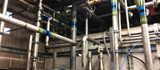 Pipe Work Installations  - We offer an extensive range of pipe work services from design and specification to new install projects or onsite modifications.