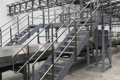 Large Step Over Platform
